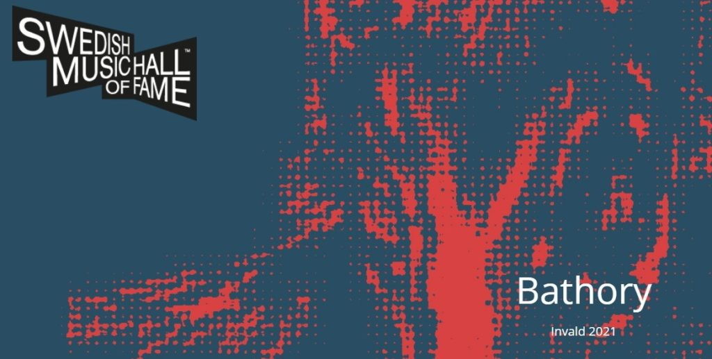 Группа Bathory введена В Шведский Музыкальный Зал Славы