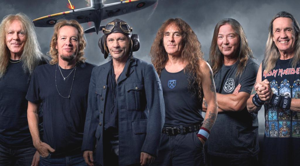 Вышла новая песня Iron Maiden «The Writing On The Wall» и новый клип