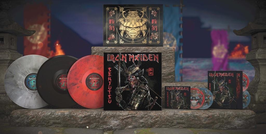 """Новый альбом Iron Maiden """"Senjutsu"""""""